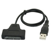 Micro SATA 4.6cm to USB 2.0 Adapter Cable