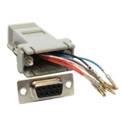 SF Cable, DB9 Female to RJ45 Modular Adapter