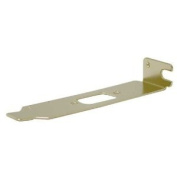 Low Profile PC Bracket for DB9 or VGA (HD15) Connectors