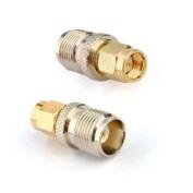 RF coaxial coax adapter SMA male to TNC female