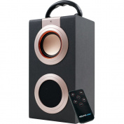Sound Logic Rechargeable Portable Media Speaker with USB
