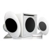 Microlab FC50 (White) 2.1 Enclosure-Free Desktop Hi-Fi Speaker