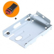 TOMTOP Super Slim Hard Disc Drive Mounting Bracket for PS3 System CECH-400x Series