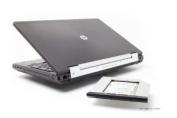 2nd HDD/SSD caddy HP Elitebook 8560w, 8570w, 8760w, 8770w Upgrade Bay