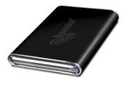 Acomdata 6.4cm Tango USB/eSATA Hard Drive Enclosure Kit, Obsidian Black
