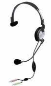 Andrea Electronic NC-181VM High Fidelity Monaural PC Headset With Noise Cancelling Microphone