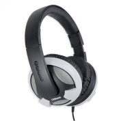 Syba NC-2 Headphone with Built-In Amplifier and In-Line Microphone, White