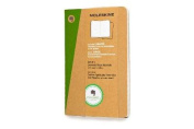Moleskine Evernote Journal with Smart Stickers, Pocket, (Set of 2), Ruled, Kraft Brown, Soft Cover