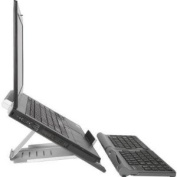 Goldtouch Go! Bundle with Lightweight Travel Keyboard and Notebook Stand
