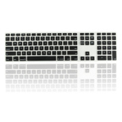 Topcase Ultra Thin silicone soft keyboard cover skin with a numeric keypad for Apple iMac with Topcase Mouse Pad