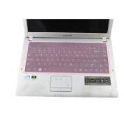 Universal Pink Silicone Keyboard Protector Skin for Laptops Notebooks Netbooks 11.1, 11.6, 12.1, 13.3, 14, 36cm