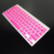 Topcase Pink Silicone Cover Skin for Apple Wireless Keyboard with Topcase® Mouse Pad