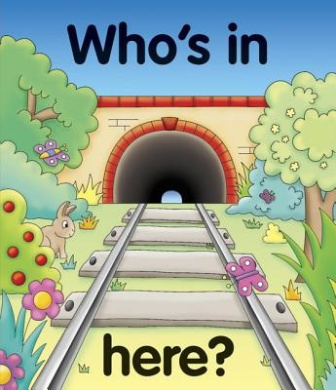 Pull the lever: Who's in here? [Board book]