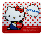 Hello Kitty Mouse Pad W/dots