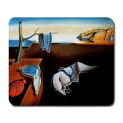 Salvador Dali The Presistence of Memory Painting Mouse Pad
