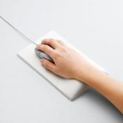 *WHITE* Elecom FITTIO Fatigue-relieving ergonomic mouse pad MP-116