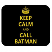 Keep Calm And Batman Customised Rectangle Mousepad