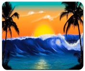 Tropical Paradise Mouse Pad from Redeye Laserworks