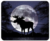 Night Moose Mouse Pad from Redeye Laserworks