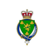 Crandall Ireland Family Crest Coat of Arms Mouse Pad