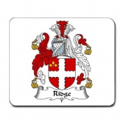 Ridge Family Crest Coat of Arms Mouse Pad