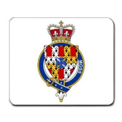 Moss England Family Crest Coat of Arms Mouse Pad
