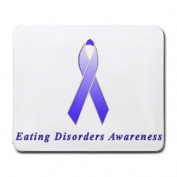 Eating Disorders Awareness Ribbon Mouse Pad