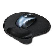 Kensington 57822 - Extra-Cushioned Mouse Wrist Pillow Pad, Black-KMW57822