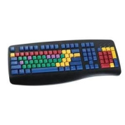 LearningBoard A Full-Featured Keyboard Designed For The Hands of A Child Black PS2-USB
