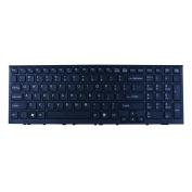 Replacement for Sony Vaio VPC-EL Series Laptop Keyboard Black Keys Black Frame Us Layout