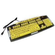 Keyguard for ZoomText Large Print Keyboard