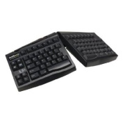 Keyboard USB Ergonomic Qwerty Black for Apple
