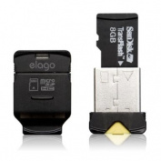 elago Mobile Nano II USB 2.0 microSDHC Flash Memory Card Reader