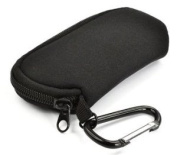 Cosmos ® Black Neoprene Soft Protector/ Bag/Case for Apple Magic Mouse with Cosmos Fastening Strap