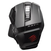 Mad Catz R.A.T. M Wireless Mobile Gaming Mouse for PC, Mac and Mobile Devices - Gloss Black