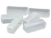 Cable Leader DVI Female Dust Cover, Clear Colour, 50pcs/Bag