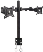 Mount-It! Articulating Dual Arm Computer Monitor Desk Mount for 70cm Monitors