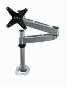 Mount-It! Articulating Single Arm Computer Monitor Desk Mount for 60cm Monitors