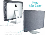 Kuzy - Grey Screen Cover for Apple iMac 70cm Dust Cover, Display Protector Model