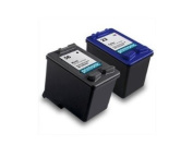 2pk Axiom Remanufactured Compatible Ink Cartridge For HP 22 56 C6656AN C9352AN Black Colour Ink Cartridge