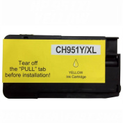 Estoreimport © Compatible Ink Cartridge for Hp 951xl Yellow Officejet Pro 8100 8600 with Chip Show Ink Level