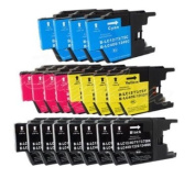20PK Axiom Remanufactured Compatible LC75 LC-75 Ink Cartridge For for Brother MFC-J280W, MFC-J425W MFC-J430W MFC-J435W MFC-J625DW