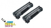 Toner Refill Store TM 2 Pack Premium Toner Cartridge for the Canon 104 FX-9 FX-10 ImageClass MF4690 MF4370dn D420 D480