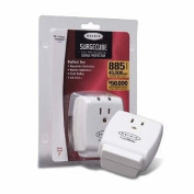 Belkin F9H100-CW 1-Outlet 885 Joules Home SurgeCube