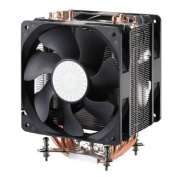 Cooler Master Hyper 212 Plus - CPU Cooler with 4 Direct Contact Heat Pipes