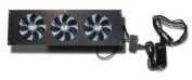 Coolerguys Cabcool1203 Three 120mm Fan Cooling Kit w/thermal control for Cabinet or Home Theatres