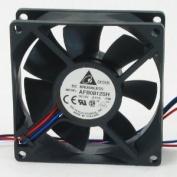 Delta Electronics AFB0812SH-F00 80x80x25mm Cooling Fan, 46.62 CFM, 40 dBA, 4000 RPM, 0.51 AMP, 3-pin TAC sensor