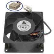 Delta PFC0812DE-PWM 80x38mm-4pin PWM Hi-Speed 9000RPM 132.5cfm Case Fan