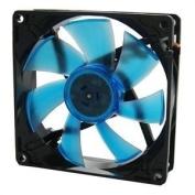 92mm gamer fan-2000RPM 22.5 dBA UV BLUE