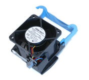 Dell H2401 W5451 Computer Case Cooling 12Volt~1.65Amp Fan and Shroud Assembly For PowerEdge 2800, 2850 Systems, Compatible Part Numbers